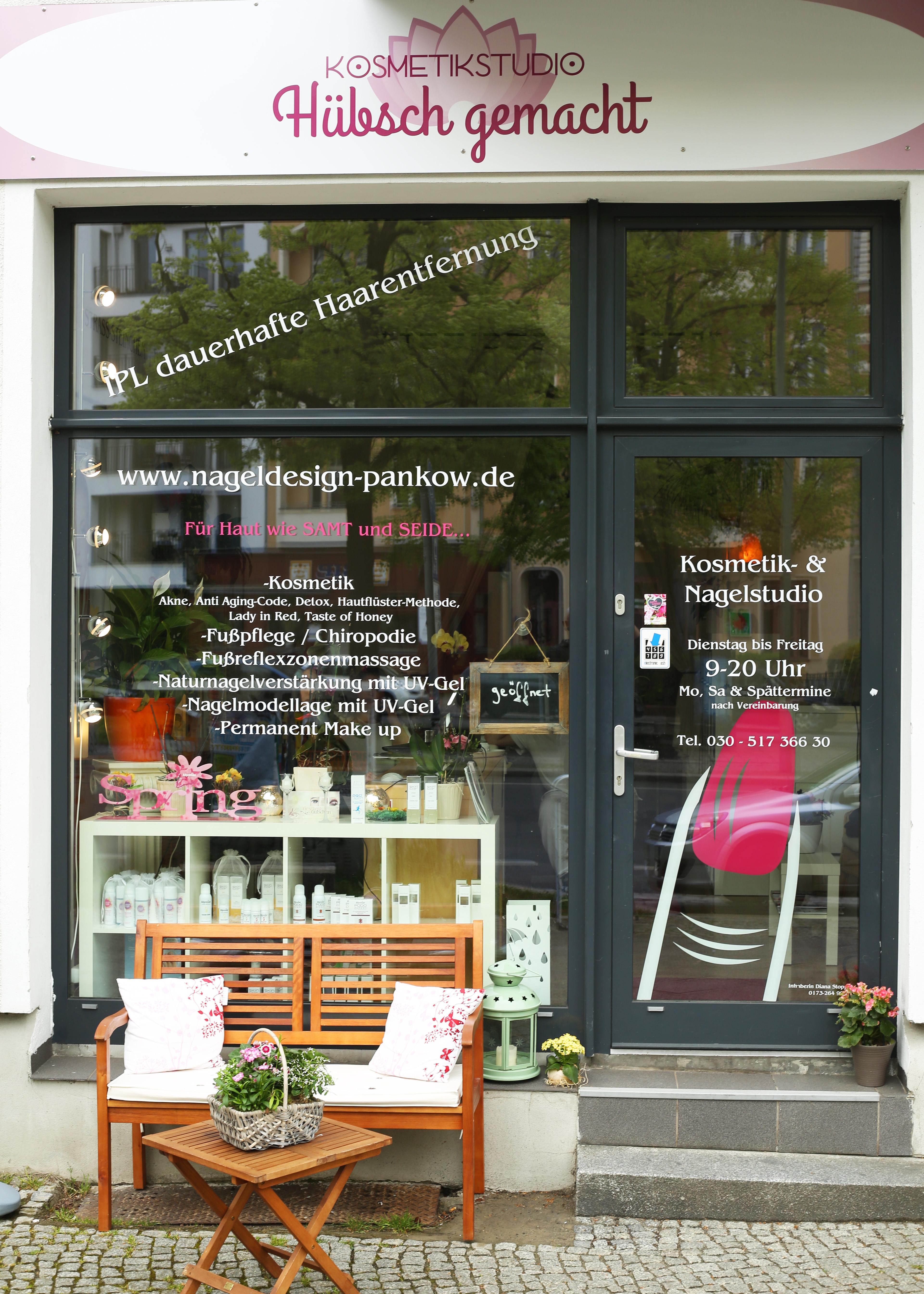 Unser Studio – Kosmetikstudio in Pankow – Nageldesign Berlin